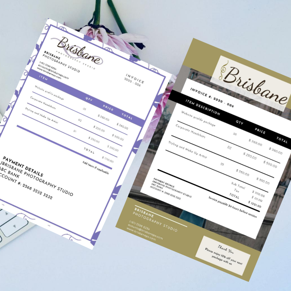 branding kits and stationery
