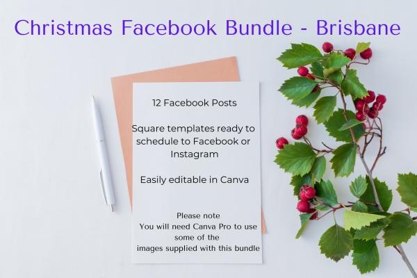 Christmas Facebook Post Bundle