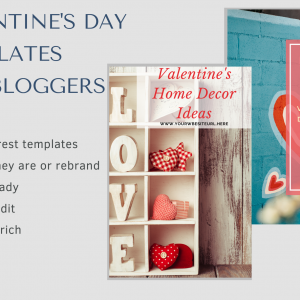 Valentine's Day Pinterest Templates