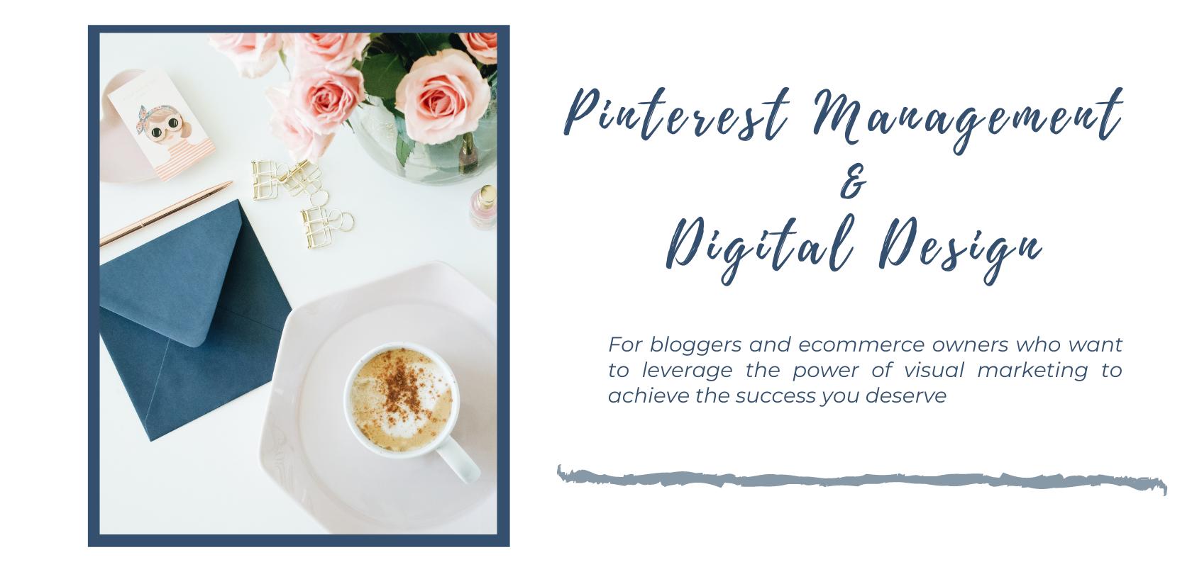 Pinterest Management and Digital Design
