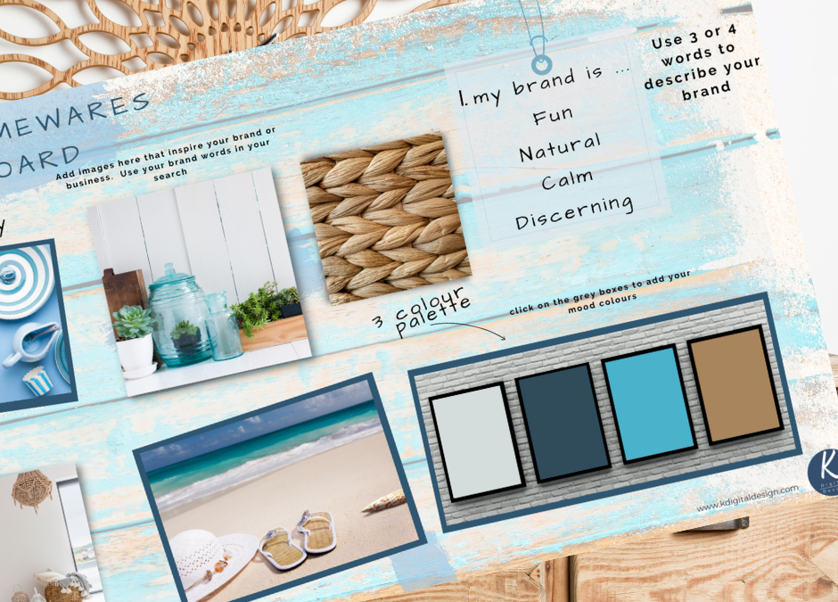 feature image for blog showing a completed mood board