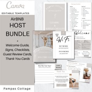 Airbnb Host bundle templates